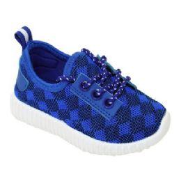 9 of Kids Diamond Knit Jogger In Blue