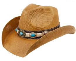 12 of Fashion Cowboy Hats With Trim Band And Studs