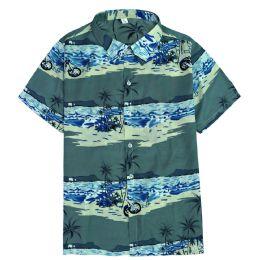 12 of Men's Light Grey Motorcycle Print Shirt ,size S-2xl