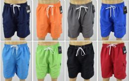 72 of Men's Assorted Color Bathing Suit, Size M-2xl