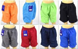 72 of Boy's Assorted Color Bathing Suit