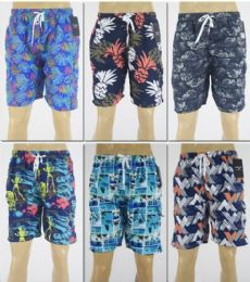72 of Men's Assorted Print Bathing Suit