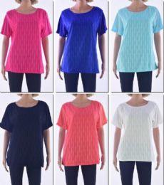 72 of Women's Short Sleeve Crochet Top