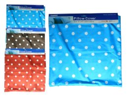 144 of Assorted Color Pillow Cover