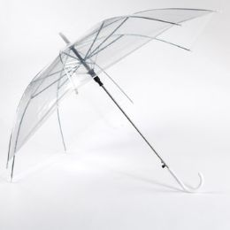 24 of 36 Inch Clear Umbrella
