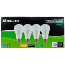 24 of Maxlite 4 Pack LED Bulb 15 Watt