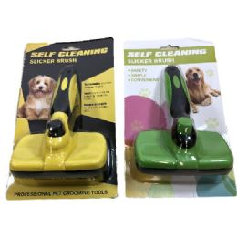 10 of Self Cleaning Slicker Pet Brush