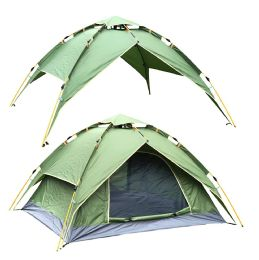 2 of Camping Tent Green 3-4 People