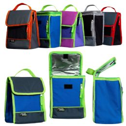 "24 of 10"" Convertible Flap Top Cooler In 5 Assorted Colors"