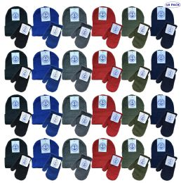 48 of Yacht & Smith Wholesale Kids Beanie And Glove Sets (beanie Mitten Set, 48)