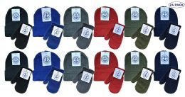 24 of Yacht & Smith Wholesale Kids Beanie And Glove Sets (beanie Mitten Set, 24)