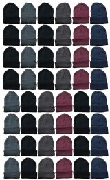 72 of Yacht & Smith Wholesale Bulk Unisex Winter Beanies