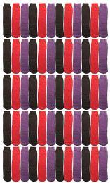 60 of Yacht & Smith Women's Thermal Non-Slip Tube Socks, Gripper Bottom Socks