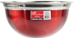 12 of 3 Quart Mixing Bowl Red