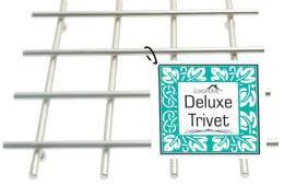 12 of Heavy Duty Satin Nickel Deluxe Trivet