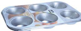 24 of Tinplated 6 Muffin Pan