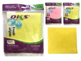24 of 6 Piece Microfiber Cleaning Cloth