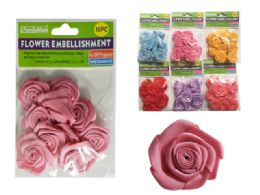 288 of 10 Piece Flower Embellishments