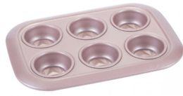 12 of Non Stick Cupcake Pan Rose Gold