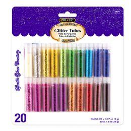 72 of Bazic 2g Glitter Tubes (20/pack)