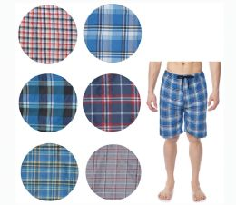36 of Men's Short Cotton Pj Pants With Packets And Strings