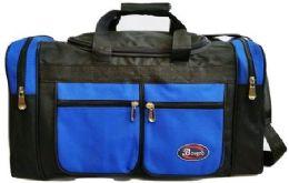 24 of 30 Inch Royal Blue Heavy Duty Duffel Bag