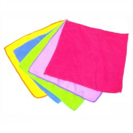 72 of Microfiber Cleaning Cloths