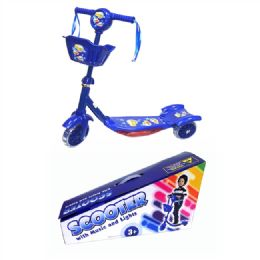 6 of Toy Bike Scooter Blue