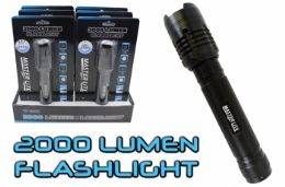 6 of 2000 Lumen Tactical Flashlight