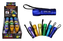 15 of Cob Led Crazy Color Flashlight Ultra Bright