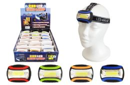 18 of Cob Led Head Lamp Ultra Bright