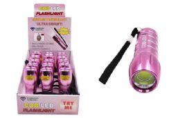 30 of COB LED Flashlight (Pink)