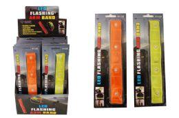 16 of 4 Led Flashing Arm Band