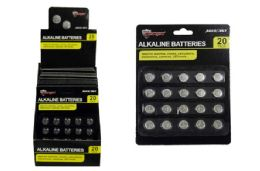 48 of Alkaline Button Cell Batteries