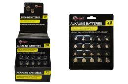 24 of Alkaline Button Cell Batteries