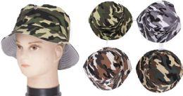 72 of Men's Camouflage Bucket Hat