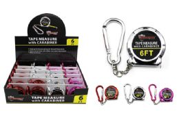 24 of Keychain Tape Measure With Carabiner