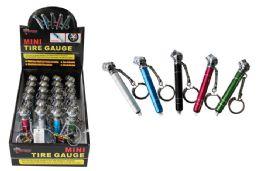 72 of Mini Keychain Tire Gauge