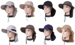 72 of Men's Fishing Hat With Neck Cover