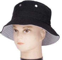48 of Men's Black Bucket Hat