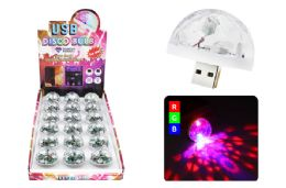 36 of USB DISCO BULB 3 LEDS SOUND ACTIVATED