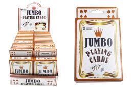 72 of Jumbo Playing Cardsl