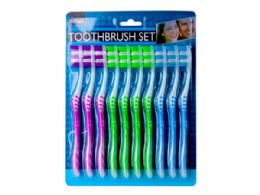 18 of 10 Pack Toothbrush Set