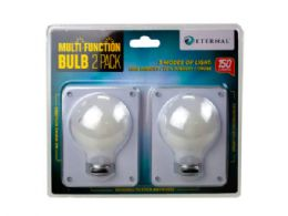 12 of 2 Pack Bulb Shaped Multi Function Switch Light