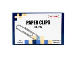 75 of 1.75 Paper Clips 100 Count