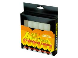 72 of 6 Pack 4 AlL-Purpose Candles