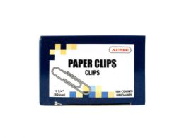180 of 1.25 Paper Clips 100 Count