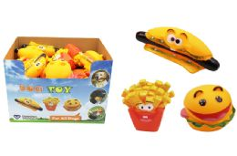 36 of Squeaky Food Dog Toy