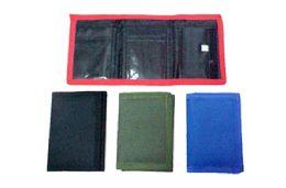 48 of Tri Fold Nylon Wallet