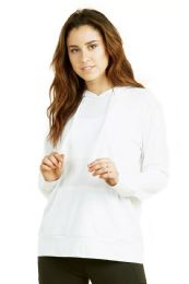 24 of Women's Lightweight Pullover Hoodie White